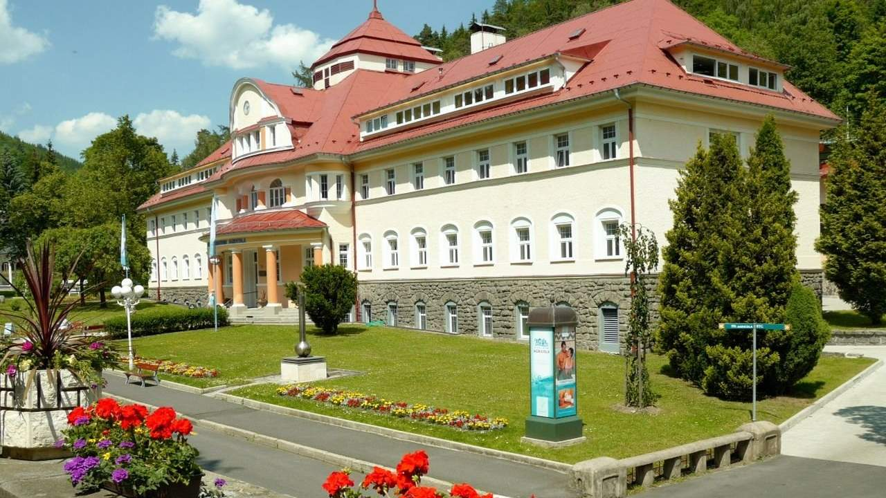 Rest and treatment in the Czech Republic: Radon Spa Jáchymov