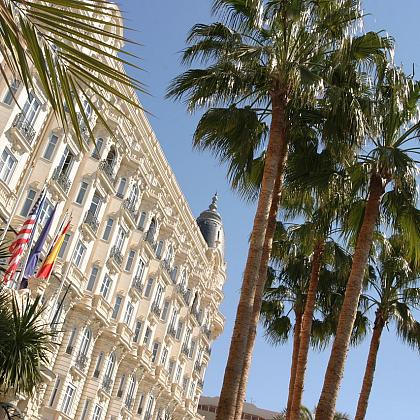 Intercontinental Carlton Hotel in Cannes