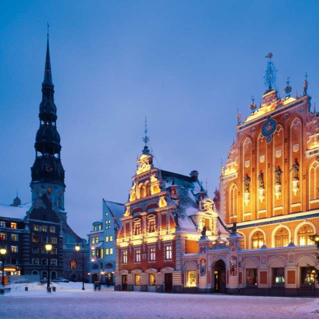 So different and so beautiful Riga in winter!