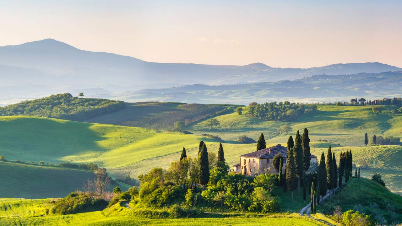 Italy: Fall in love with Tuscany